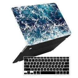 iCasso Macbook Air 13 Inch Case With Keyboard Cover Art Prin