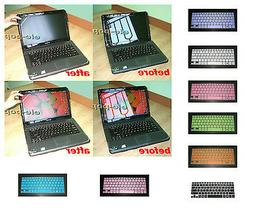 15.6'' Anti Glare Cover+ Keyboard Skin for HP Envy m6-p** m6
