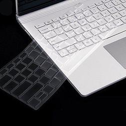 Clear Silicone TPU Keyboard Protector Cover Skin For Microsoft Surface Book 13.5