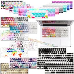 2017 Pattern Silicone Soft Smooth Keyboard Skin Cover For Ma