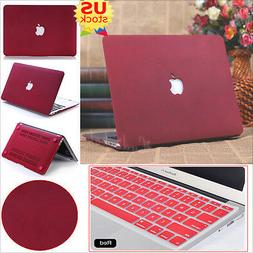 2in1 Quicksand Matte Hard Case+Keyboard Cover for MacBook Pr