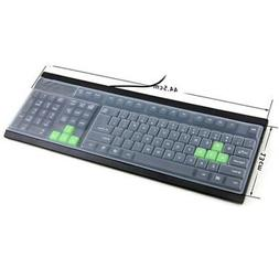 2X Silicone Desktop Computer Keyboard Cover Keyboard Protect