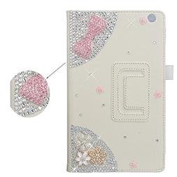 Spritech 3D Bling Diamond Crystal Case Premium Leather Stand