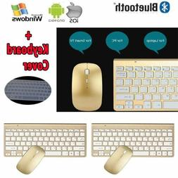 Wireless Keyboard and Mouse Combo Set USB 2.4Ghz Desktop Co