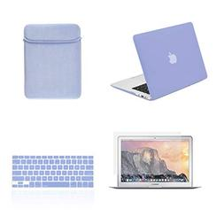 TOP CASE - 4 in 1 Bundle Hard Case, Keyboard Cover, Sleeve B