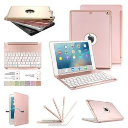 Backlit Bluetooth Keyboard Cover Protective Case For iPad 9.