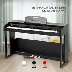 88 key lcd electric digital piano hammer