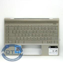 928502-001 TOP COVER - SILVER GOLD WITH KEYBOARD BL DSC