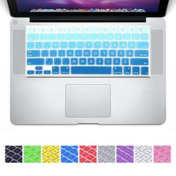 DHZ D6 Big Font Sky Blue Gradient Keyboard Cover Silicone Sk