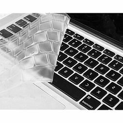 DHZ Ultra Thin Transparent Keyboard Cover Soft TPU Skin for