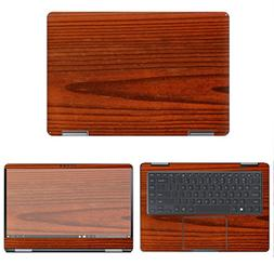 decalrus - Protective Decal Wood Skin Sticker for Samsung No