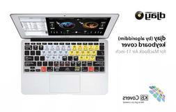 KB Covers Keyboard Cover for MacBook Air 11 - Traktor Pro Ve
