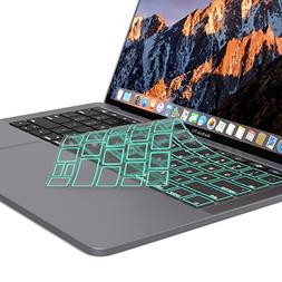 Kuzy - MacBook Pro Keyboard Cover for Newest MacBook Pro wit