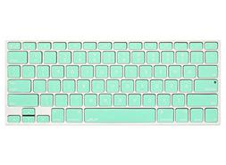 Kuzy - Mint GREEN Keyboard Cover Silicone Skin for MacBook P