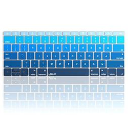 Kuzy Ombre BLUE Keyboard Cover for MacBook Pro 13 inch A1708