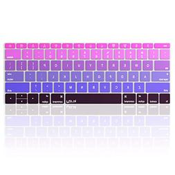 Kuzy Ombre PURPLE Keyboard Cover for MacBook Pro 13 inch A17