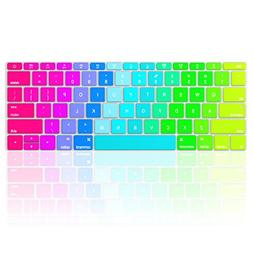 Kuzy RAINBOW Keyboard Cover for MacBook Pro 13 inch A1708  R