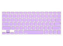 Kuzy Silicone Skin Keyboard Cover, Light Purple