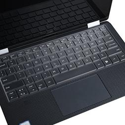 Leze - Ultra Thin Clear Keyboard Cover Skin for Dell XPS 13
