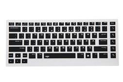 "Leze - Ultra Thin Silicone Keyboard Cover for 15.6"" Dell Ali"