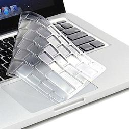 Leze - Ultra Thin Soft Keyboard Protector Skin Cover for Del