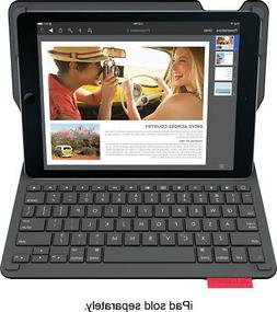 Logitech - Type+ Bluetooth Keyboard Case For Apple® Ipad