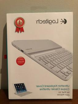 Logitech Ultrathin Keyboard Cover for iPad 5, White