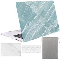 Sykiila - for Macbook Air 11 Inch Case Hard Cover 4 in 1 HD