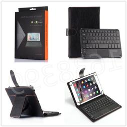 Touch Mouse Wireless Bluetooth Keyboard Stand Case For Unive
