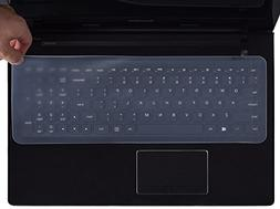 "Universal Silicone Keyboard Protector Cover Skin for 15.6""-1"