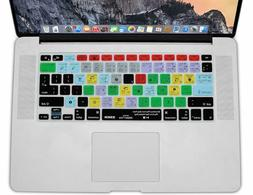XSKN Ableton Live Shortcuts Keyboard Cover Skin for old MacB