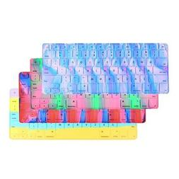 Mac Life Abstract Aurora Silicone Keyboard Cover for Macbook