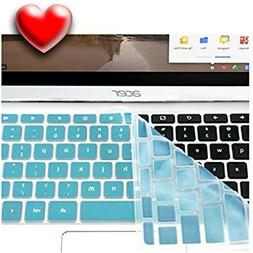 Casiii Best Acer Chromebook Keyboard Cover Back to School Bu