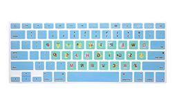HRH Animal Fonts Keyboard Cover TPU Skin for MacBook Air 13