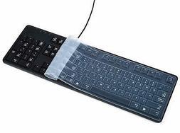 anti dust waterproof silicone keyboard