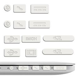 kwmobile Anti-Dust Protection Plugs Set - Silicone Rubber Du