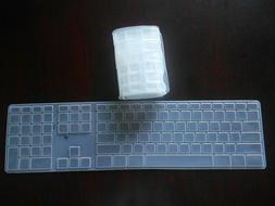 KUZY Apple A1243 Keyboard CLEAR Cover with Numeric Keypad &