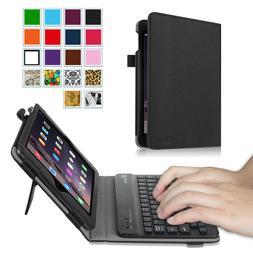 For Apple iPad mini 3 2 1 Folio Case Cover Stand w/ Wireless