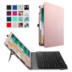 For Apple iPad Pro 10.5'' 2017 Bluetooth Keyboard Case Folio