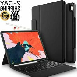 Apple iPad Pro 12.9 2018 Wireless Keyboard Stand Case Cover