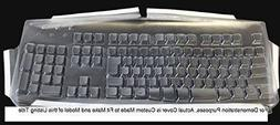 Viziflex's Biosafe Anti Microbial Keyboard cover fitting Log