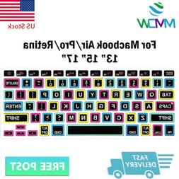 black big font silicone keyboard cover skin