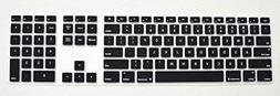 Black Full Size Anti Dust Keyboard Cover Skin Silicone Prote