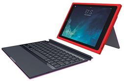 Logitech BLOK Protective Keyboard Case for iPad Air 2, Red/V