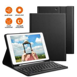 """Bluetooth Keyboard Case Cover Stand for iPad 9.7"""" 6th 5th /"""