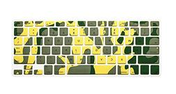 PapyHall Camouflage Series Silicone Keyboard Cover Keyboard
