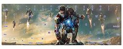 HRH Captain America Super Hero Series Pattern TPU Keyboard P