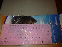 CaseBuy Light Pink Silicone Keyboard Cover - Antibacterial G