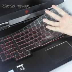 CHNASAWE TPU keyboard protector skin cover fit HP Omen 17-an