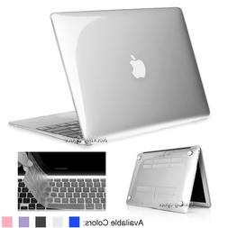 Clear Crystal Case Shell +Keyboard Cover for Macbook Air Pro